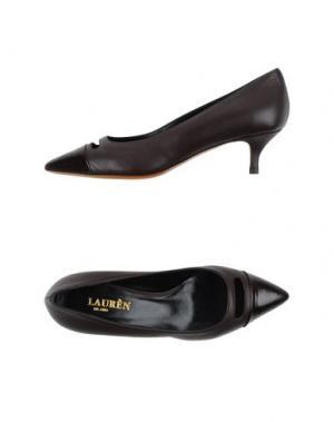 Туфли LAURÈN. Цвет: темно-коричневый