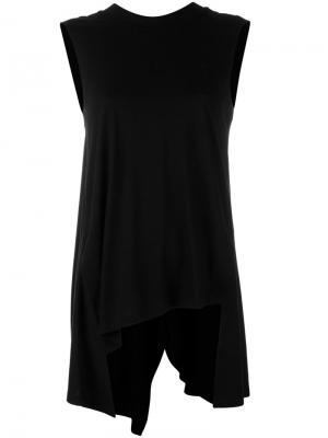 Блузка шифт Enföld. Цвет: чёрный