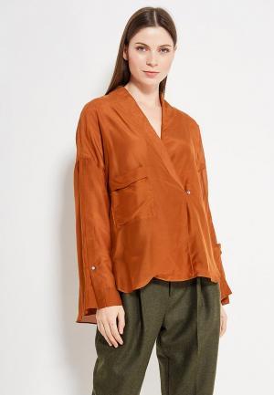 Блуза Mango. Цвет: коричневый