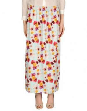 Длинная юбка JOE RIVETTO. Цвет: небесно-голубой