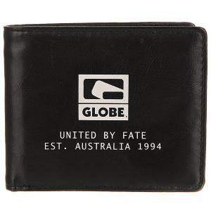 Кошелек  Corroded Wallet Black Globe. Цвет: черный
