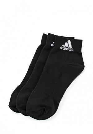 Комплект носков 3 пары adidas Performance. Цвет: черный