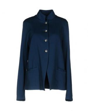 Пиджак MANILA GRACE. Цвет: темно-синий