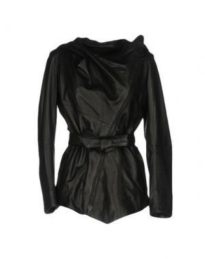 Куртка CUERO. Цвет: черный