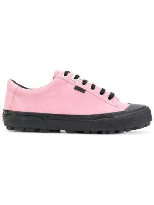 Кеды Vans Vault x Alyx. Цвет: розовый и фиолетовый