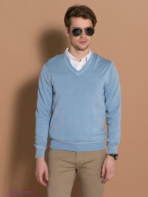 Пуловер GEOX. Цвет: голубой