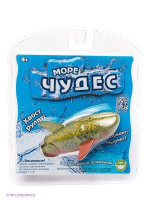 Робо-рыбка акробат Брукс Море Чудес. Цвет: голубой