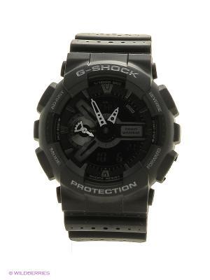 Часы G-Shock GA-110LP-1A CASIO. Цвет: черный