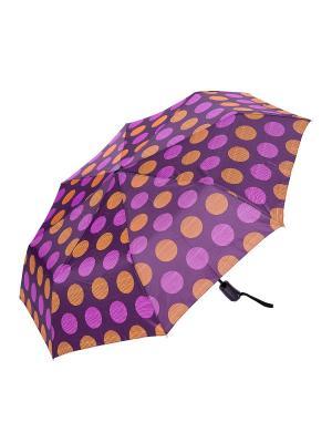 Зонт складной NUAGES. Цвет: фиолетовый