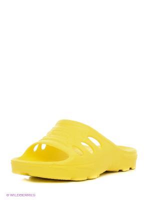 Шлепанцы DEMAR. Цвет: желтый