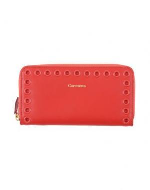 Бумажник CARMENS. Цвет: красный