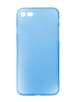Чехол крышка для iphone 7 slim IQ Format. Цвет: голубой