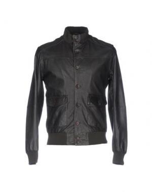 Куртка D'AMICO. Цвет: свинцово-серый