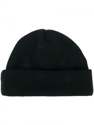 Вязанная шапка Études. Цвет: чёрный