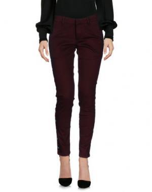 Повседневные брюки SUPERPANTS. Цвет: красно-коричневый