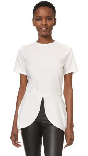 Блуза Nina RUKEN. Цвет: белая рубашечная ткань