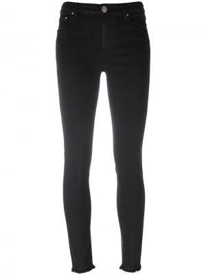 Super skinny cropped jeans Dont Cry Don't. Цвет: чёрный