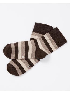Носки Mark Formelle. Цвет: коричневый