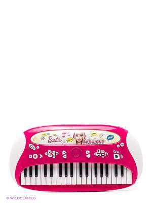 Пианино TM Barbie IMC toys. Цвет: фуксия, белый