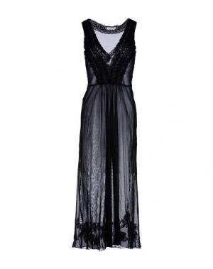 Длинное платье ANJUNA. Цвет: черный