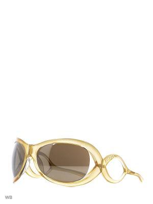 Солнцезащитные очки LC 586 02 Les Copains. Цвет: золотистый, прозрачный