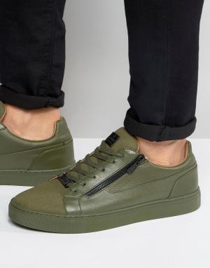 Glorious Gangsta Низкие кроссовки London. Цвет: зеленый