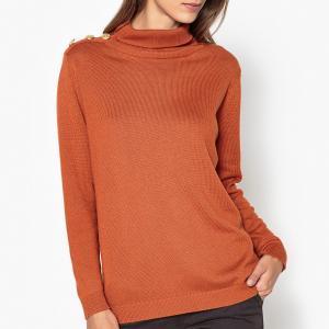 Пуловер свободный MALOU HARRIS WILSON. Цвет: кирпичный