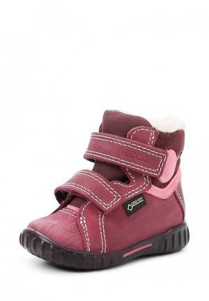 Ботинки MIMIC ECCO. Цвет: бордовый