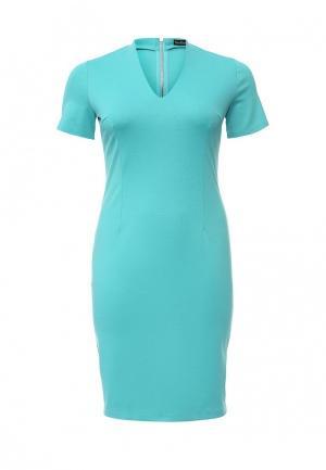 Платье Bestia Donna. Цвет: бирюзовый
