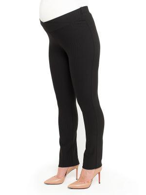 Классические брюки-скинни с регулирующимся поясом Balloon-Москва. Цвет: черный