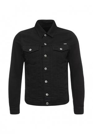 Куртка джинсовая Diesel. Цвет: черный