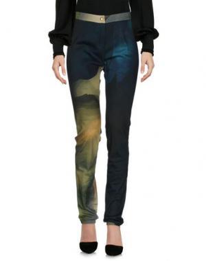 Повседневные брюки CHALAYAN. Цвет: темно-зеленый