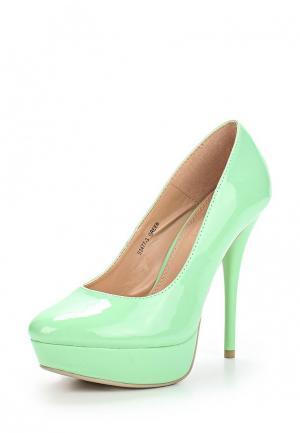 Туфли Ideal. Цвет: мятный