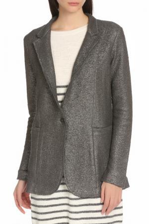 Пиджак Manila Grace. Цвет: 99 темно-серый