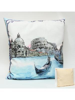 Декоративная подушка Magic Home. Цвет: белый