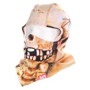 Балаклава  B1 Drytech Skull Airhole. Цвет: бежевый,черный