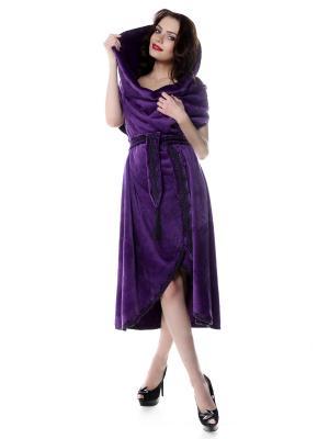 Халат SEANNA. Цвет: фиолетовый