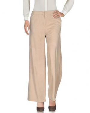 Повседневные брюки DESA COLLECTION. Цвет: бежевый