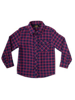 Рубашка Knot so bad. Цвет: темно-синий, красный