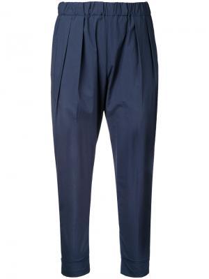 Спортивные брюки 08Sircus. Цвет: синий