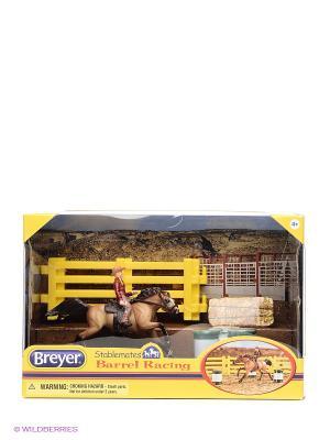Набор Вестерн- баррел Breyer. Цвет: коричневый, желтый