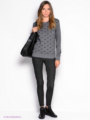 Джинсы American Outfitters. Цвет: темно-серый
