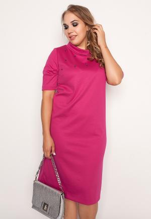 Платье Eliseeva Olesya. Цвет: розовый