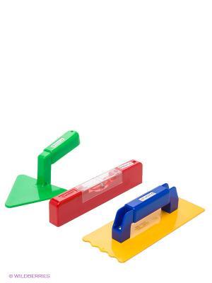 Строительный набор SPIELSTABIL. Цвет: красный