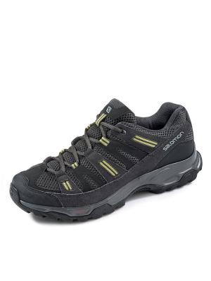 Кроссовки SHOES SHERBROOKE 2 PHANTOM/BLACK/FERN SALOMON. Цвет: черный,серый