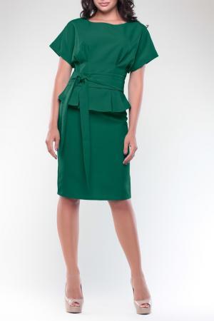 Платье REBECCA TATTI. Цвет: изумрудный