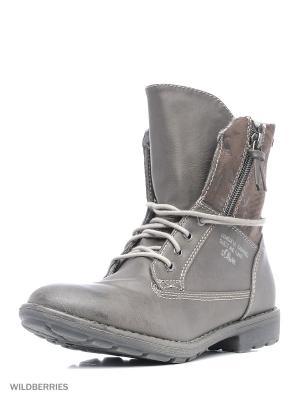 Ботинки S.OLIVER. Цвет: коричневый