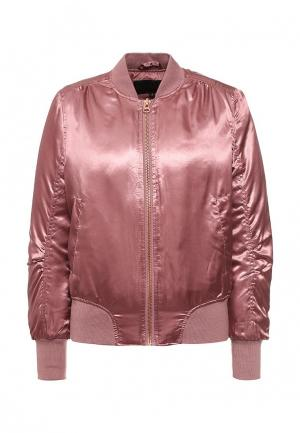 Куртка QED London. Цвет: розовый