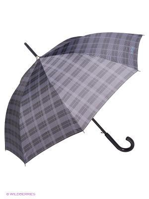 Зонты Isotoner. Цвет: черный, серый