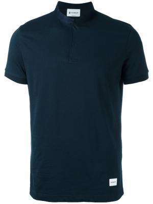 Классическая футболка Dondup. Цвет: синий
